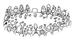 Networking autour d'une table ou réunion de coworking ?