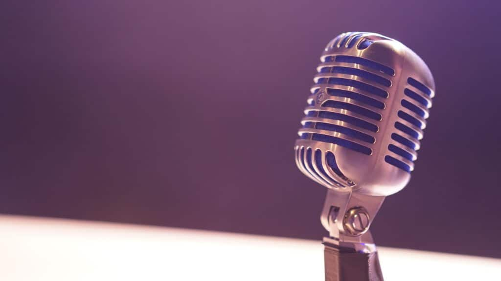 Remote Interpreting used to deliver simultaneous translations services with professional microphone